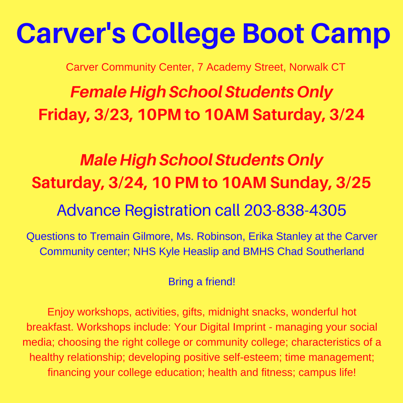 Female High School Students OnlyFriday, 3_23, 10PM to 10AM Saturday, 3_24Male High School Students OnlySaturday, 3_24, 10 PM to 10AM Sunday, 3_25.png