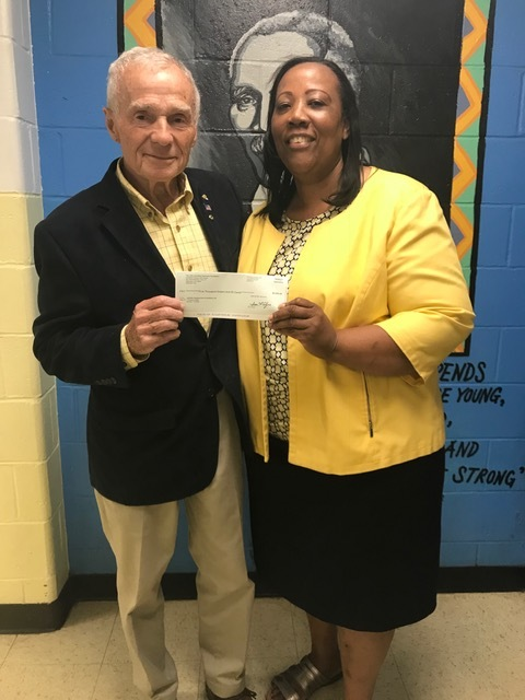 On behalf of the entire Carver community, Novelette Peterkin expressed her deepest gratitude for the generosity of the Kashulon Foundation to Martin McLaughlin, trustee of the Kashulon Foundation.