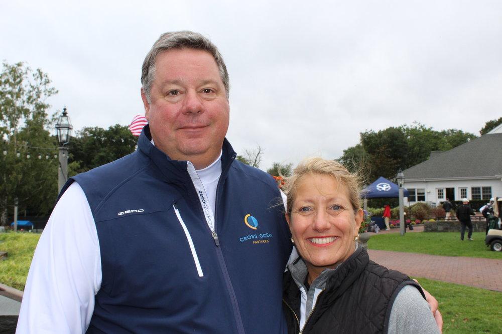 Event committee members, Michael Gregorich and Carol Howe