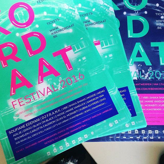 Posters ❤️#kordaat16