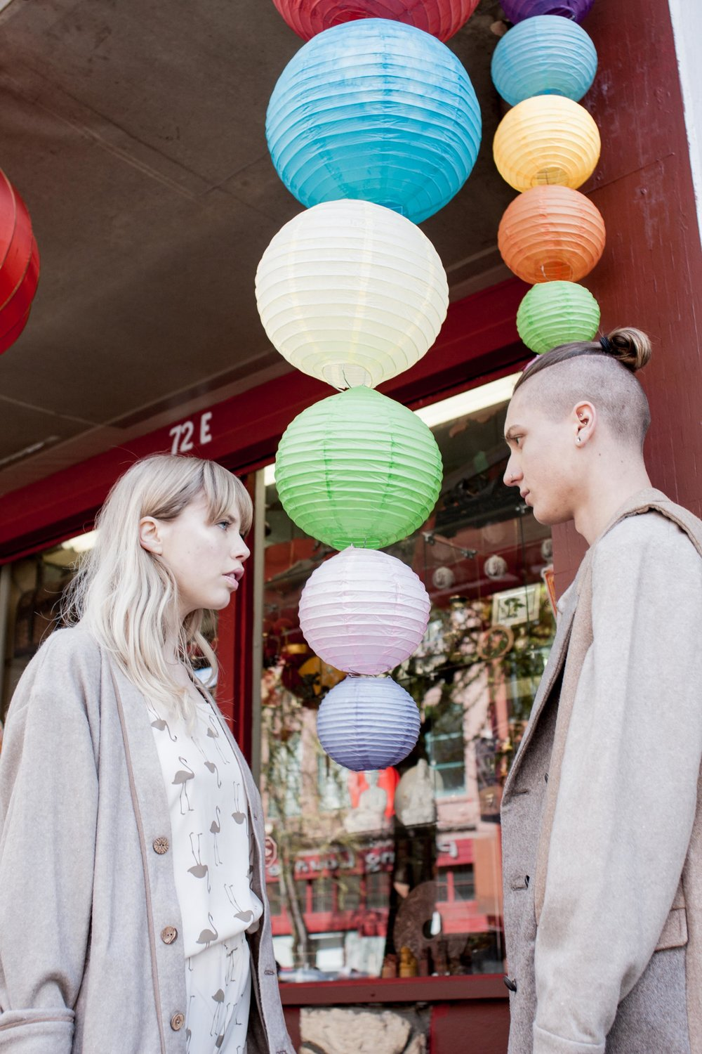 In Reflekt  Issue º12 Travel : models Cate & Liam (both Detention agency) shot by Shereen Alex