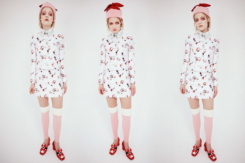Minju Kim A/W 15 'Hero's Eyes' Loobook