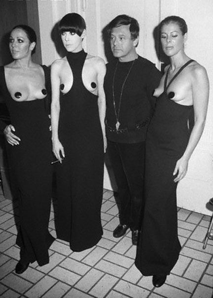 Rudi Gernreich and his cut-out designs