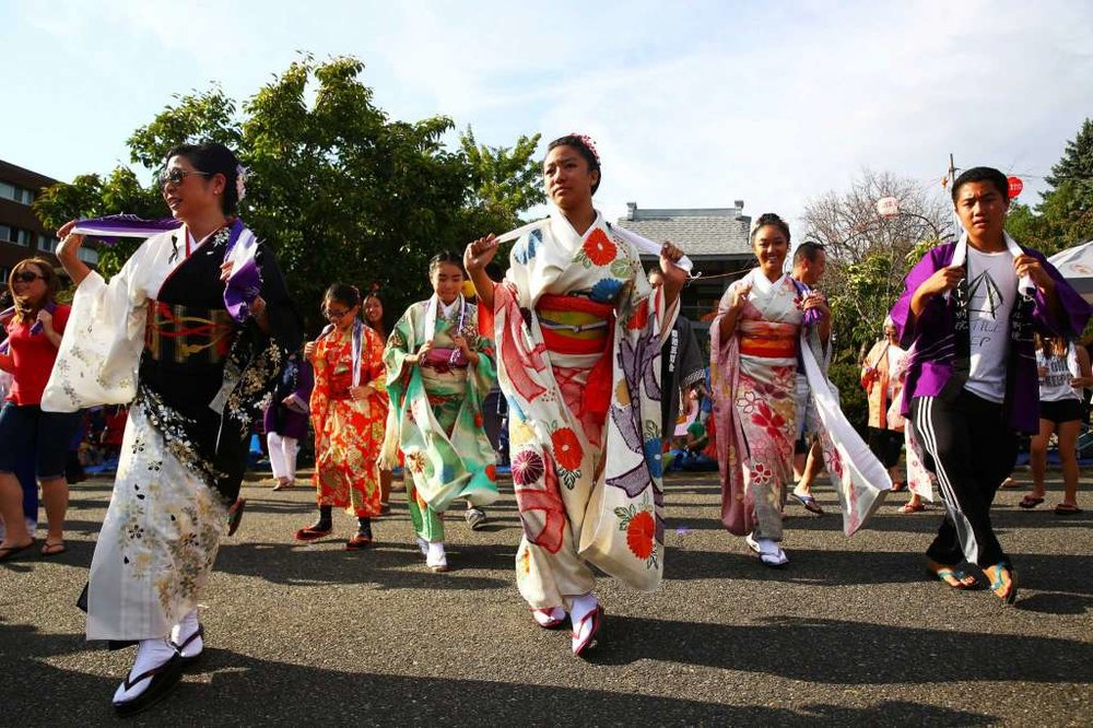 Bon Odori festival in Seattle
