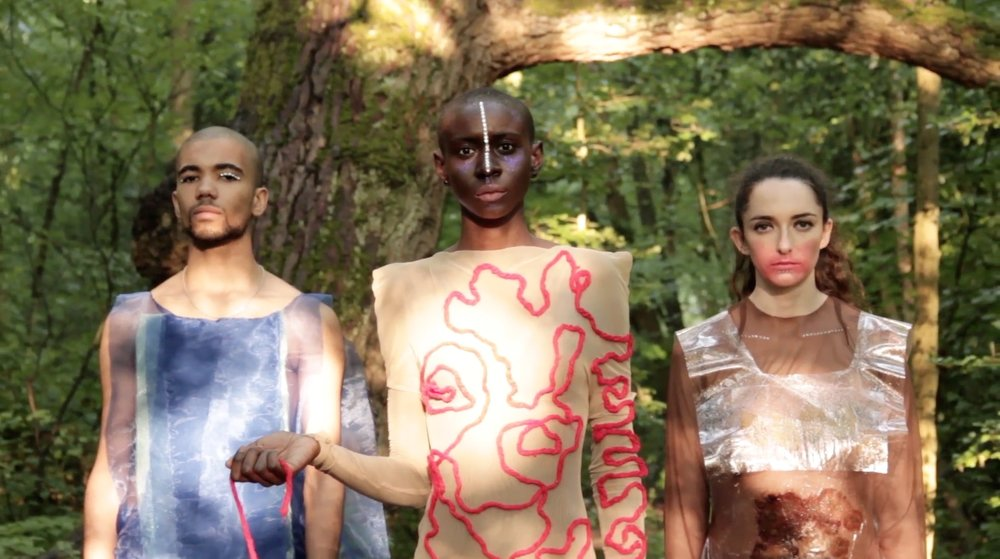 From left: Tymber Santos, Kaiyo (Alacarte Models) , Livvy Lightfoot