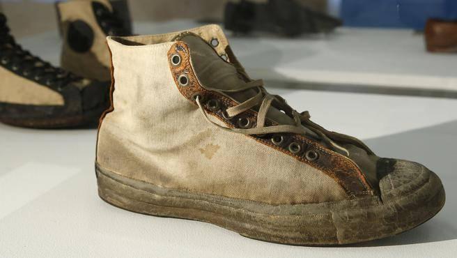 Photo Images: Rise of Sneaker Culture Exhibit.