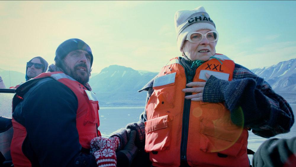 Vivienne and husband/creative partner Andreas Kronthaler