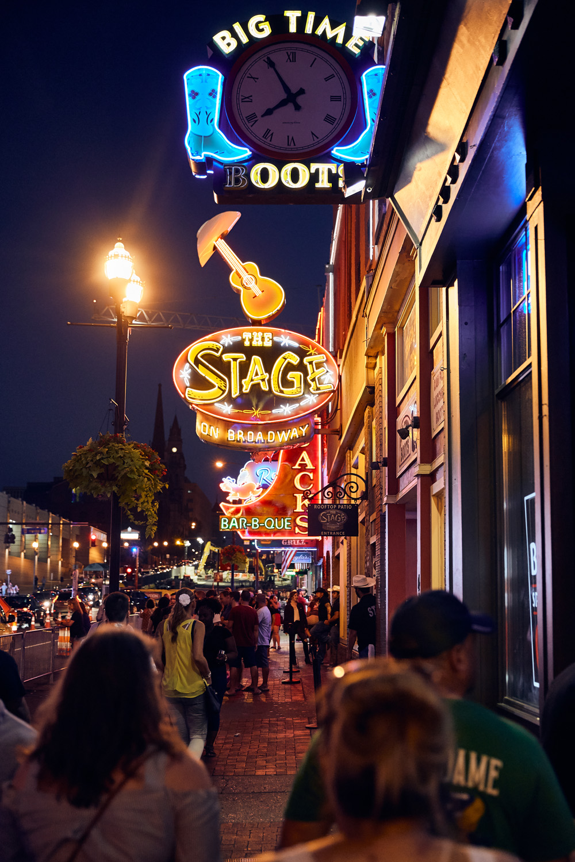 Broadway Street - Nashville