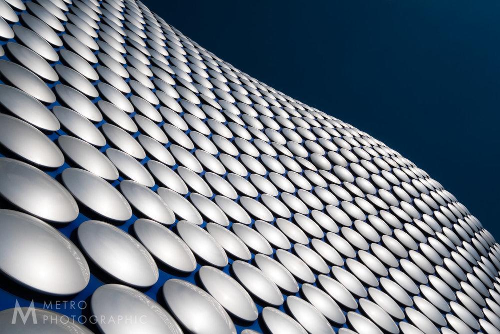 The Selfridges Building at The Bullring Shopping Centre, Birmingham, England.