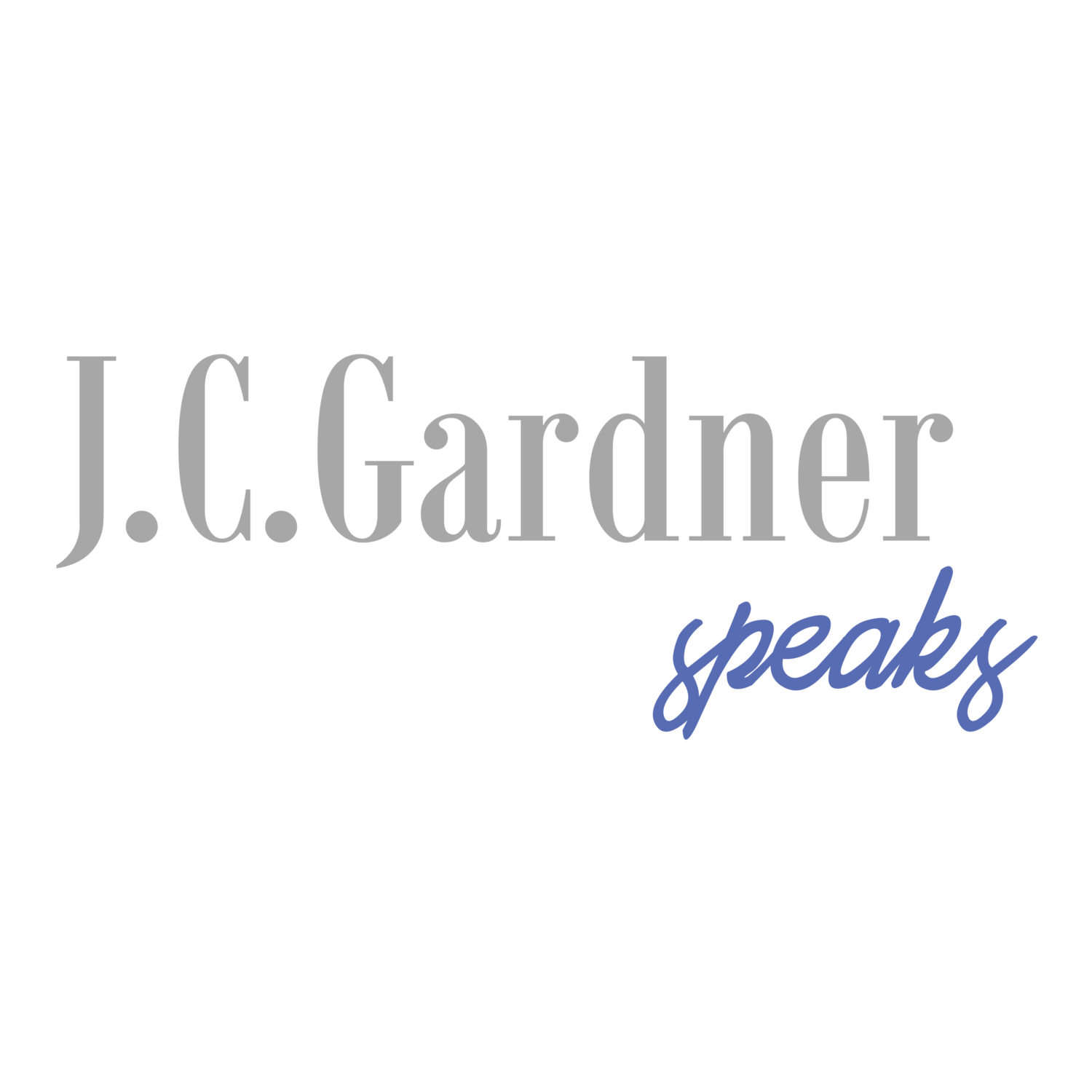 J.C. Gardner Speaks