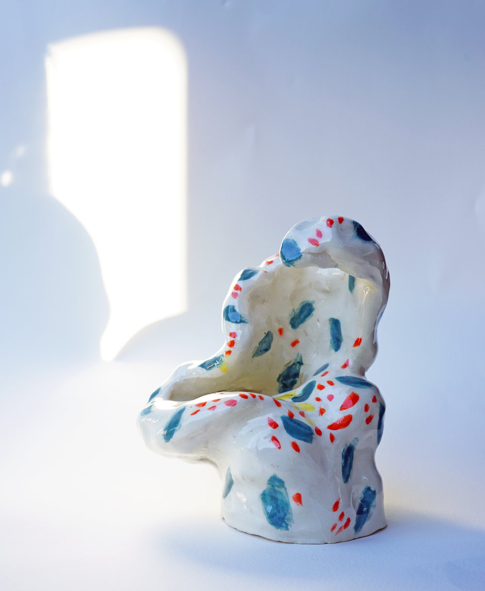 bodily form  glazed ceramic  2017