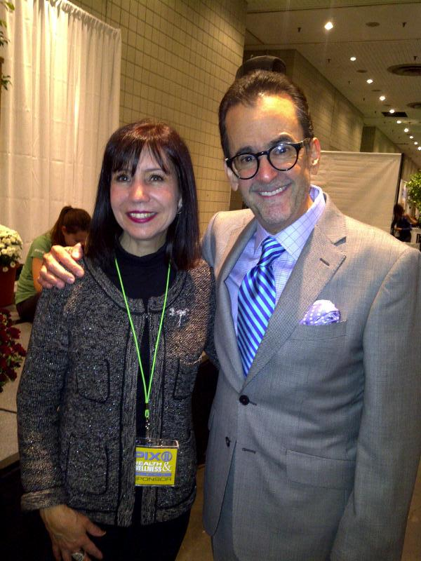 Diane with Lionel from WPIX