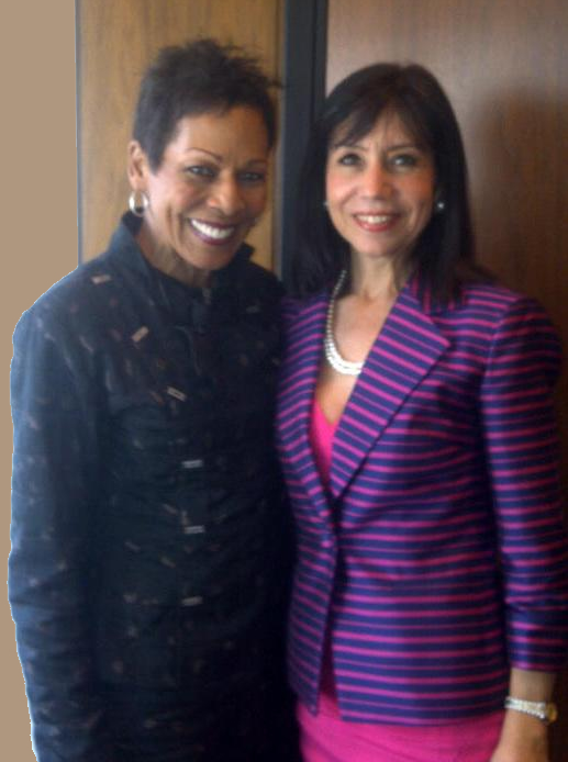 Diane DiResta with Valerie Coleman Morris, Keynote Speaker on Managing Your Money