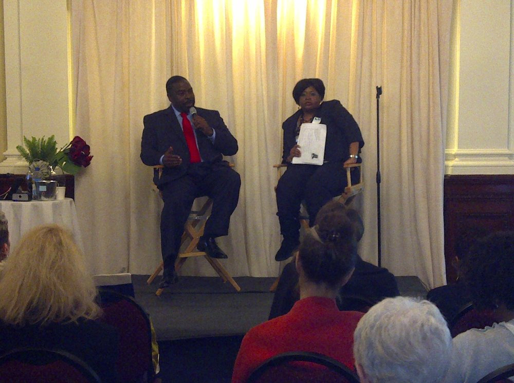 Les Brown and Marquesa