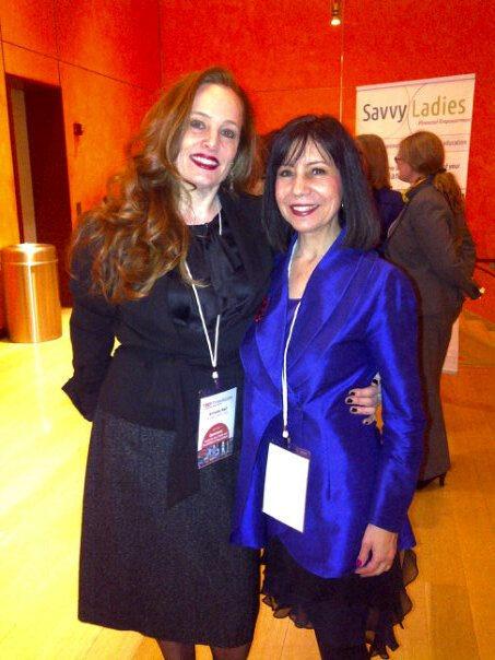 Event Planner Annette Naif with Diane DiResta at TEDxTimesSquare