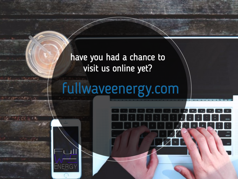 Online advertisement for  Full Wave Energy Corp.