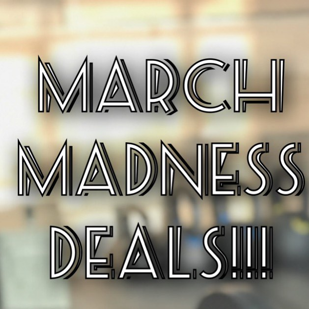 ⚡️🏀MARCH MADNESSSSS DEALS! 🏀⚡️ 15% off all Services! ... PLUS ... Buy a Package in FULL and receive an additional 5% off! - ✅ Open Gym Memberships ✅ Personal Training ✅ Group Classes - Don't let the title fool you, we haven't lost our minds.... yet at least! Have you been looking to up your game and take your fitness to the next level? Dribble down 14 Mile and see us at the club to slam dunk these deals! - Call us at ‪248.677.4766‬ or email at motorcitybarbell@gmail.com to get started today! - *This offer is only valid during March Madness basketball season! Valid for all new contracts! - #mcbarbellclub #motorcitybarbell #clawson #birminghammi #troymi #royaloakmi #berkleymi #Ferndale #strengthtraining #crosstraining #powerlifting #crossfit #bodybuilding #opengym #groupfitness #personaltraining #olympiclifting #weightlifting #personaltrainer #strengthcoach #gym #privategym #marchmadness #barbellclub