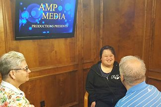 Introducing our amplifying Hope program supporting media training for Hope Services clients and staff.