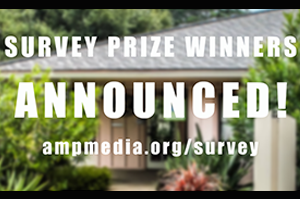 Congratulations to the 15 individual winners of our 2017 amp survey.  Visit our updated survey page with the drawing results.