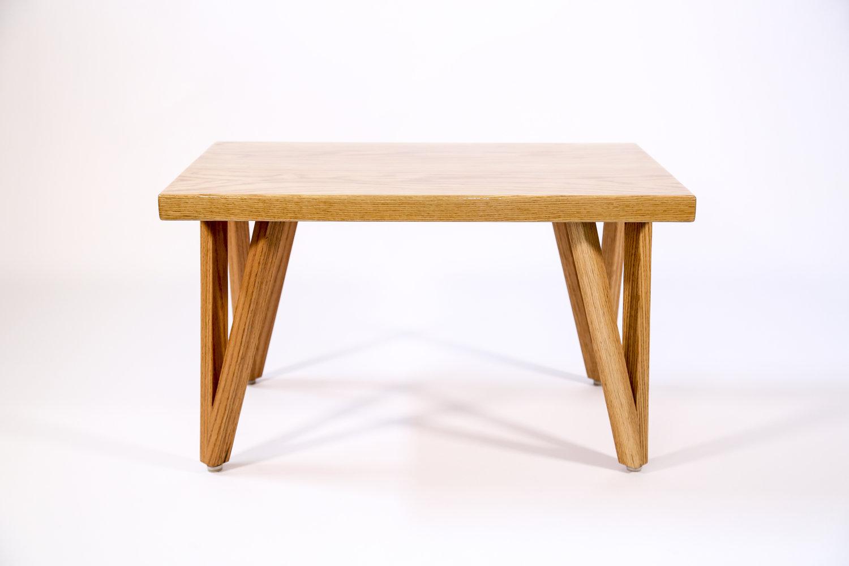 Amazing Akr Handcrafted Oak Coffee Table Mhr Metal Fab Machost Co Dining Chair Design Ideas Machostcouk
