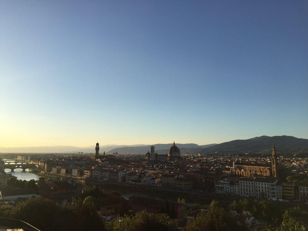 Toia, Piazzale Michelangelo