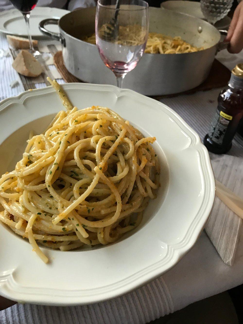 Toia Italiaanse catering maakt ook bottarga