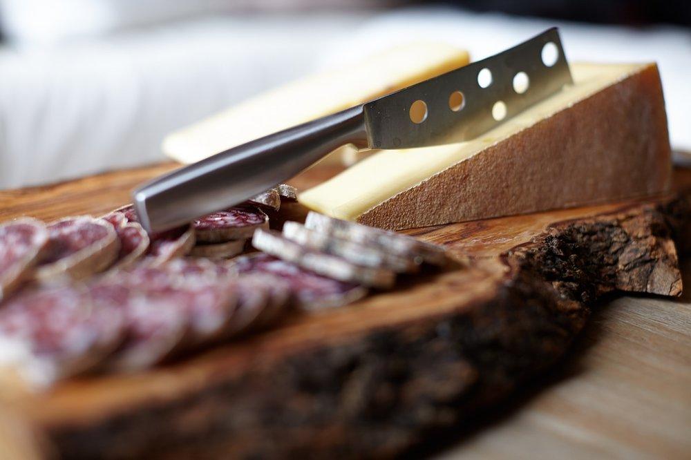 Italiaanse kaas en vleeswaren