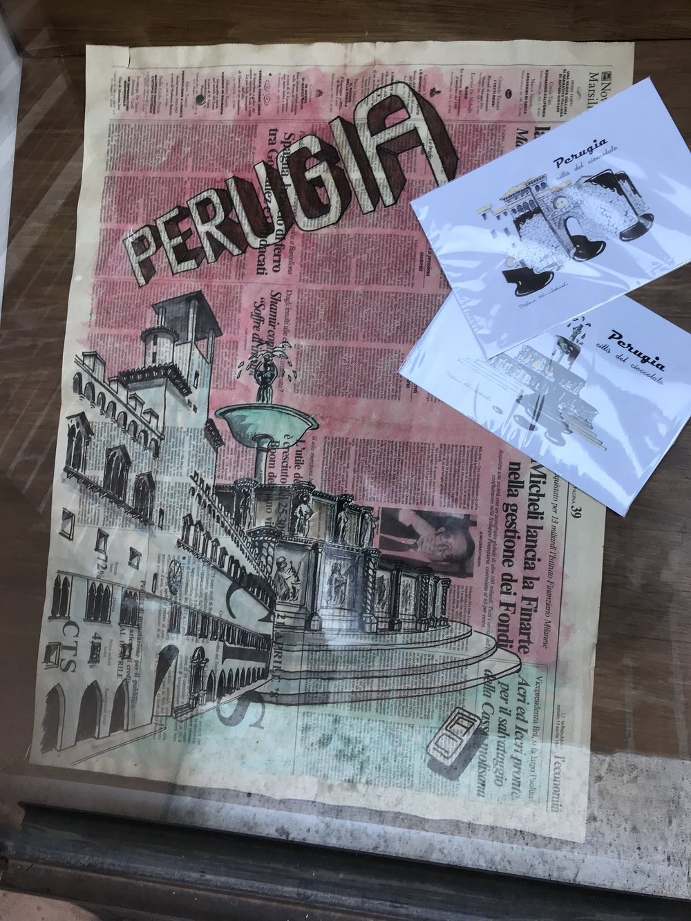 Perugia Umbrië