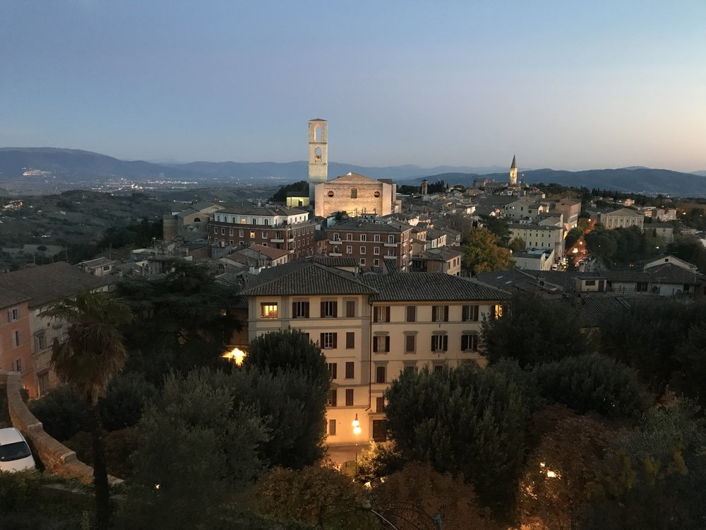 Perugia oude stad