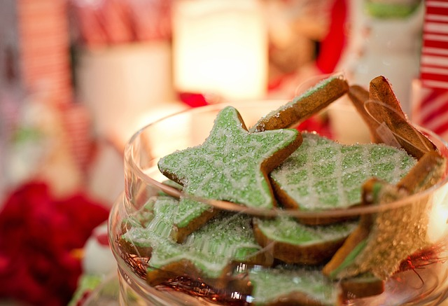 Kerstdiner met de familie Toia