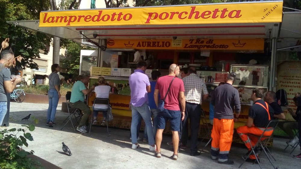 Meest populaire streetfood in Florence