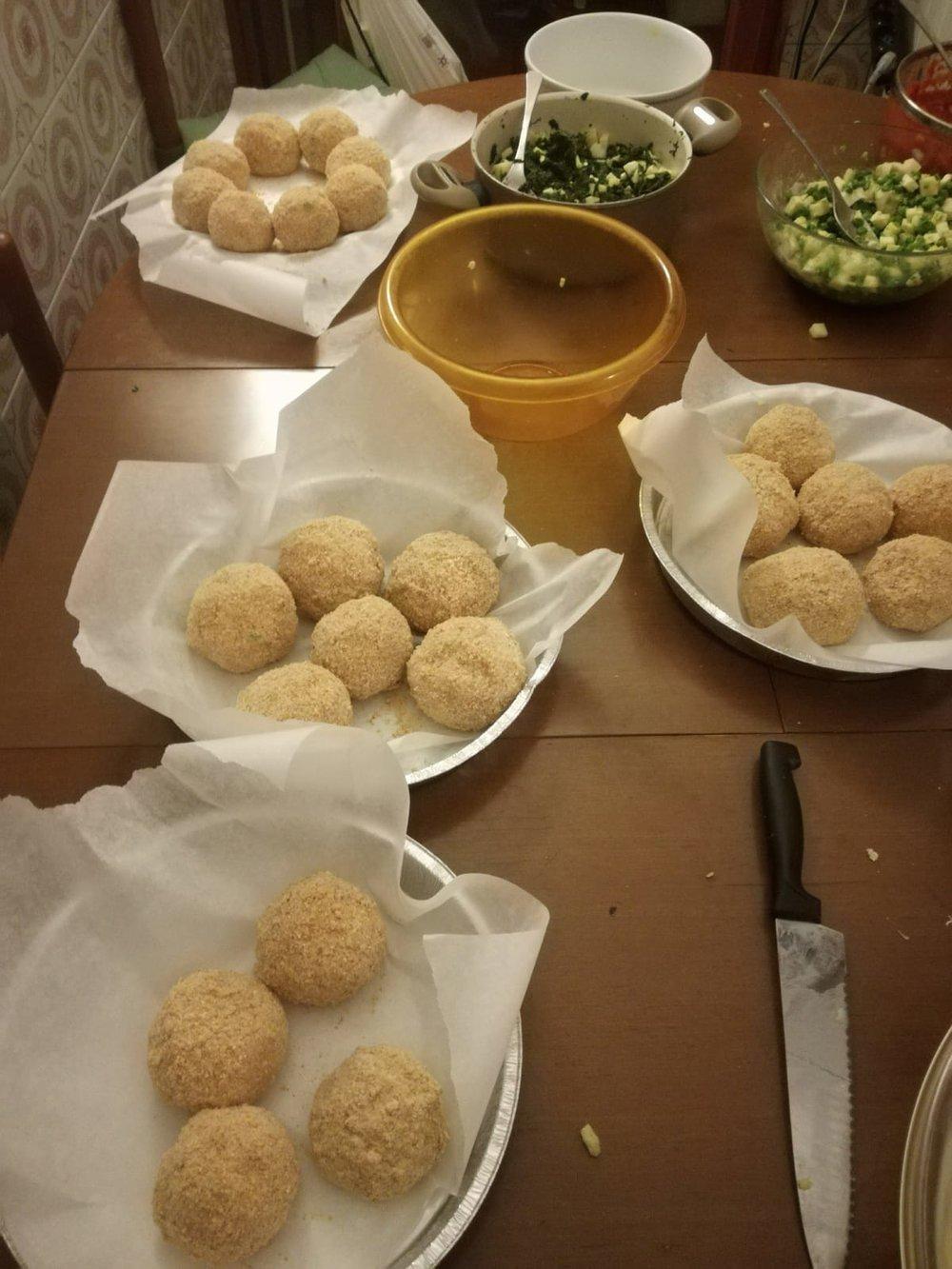 Arancini op Sicilië