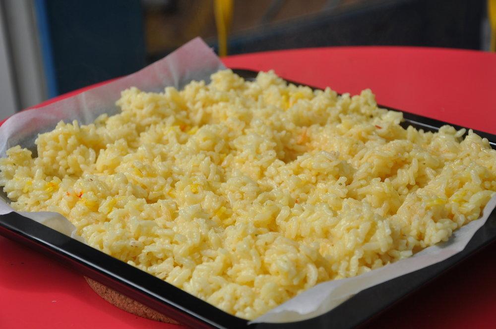 Risotto voor de risottoballetjes