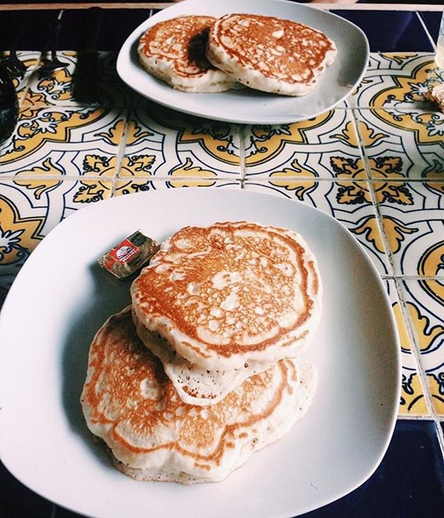We hope everyone has had a great weekend! Pancakes from @caffeunionsf are some of the best in the city. Treat yourself #pancakes #breakfast #weekend #eatlocal #sanfrancisco #yummy
