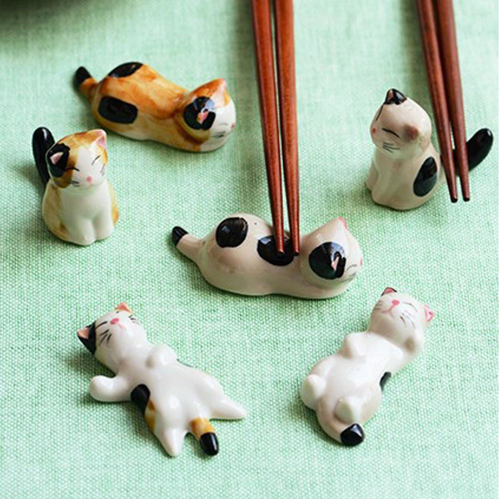 Cat Chopsticks Resters. Petculiar