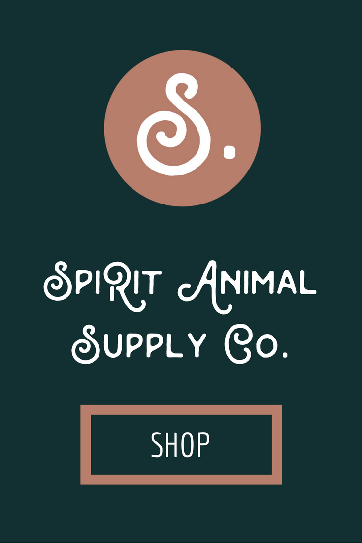 shop for pets. shop for pet parents. Spirit Animal Supply Co.