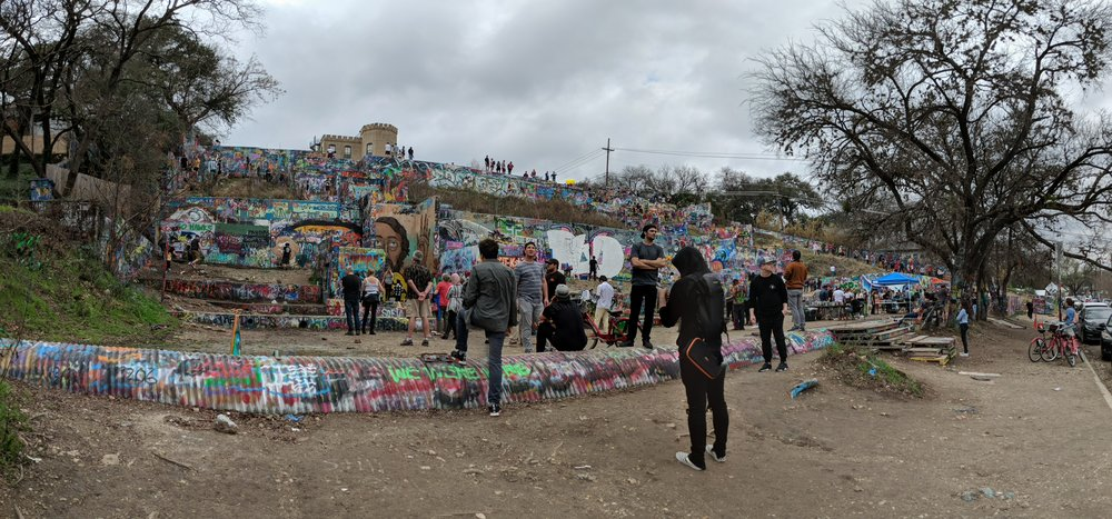 Graffiti Park Austin Texas