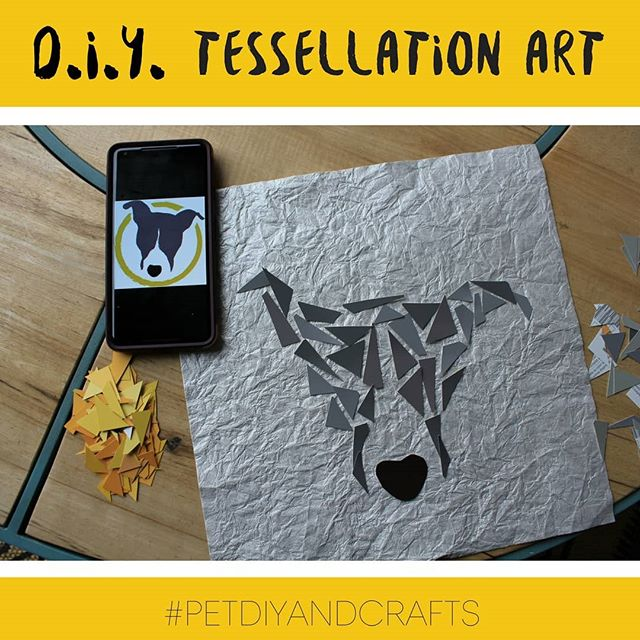 Check put the latest from our blog! #petdiyandcrafts #tessellationart