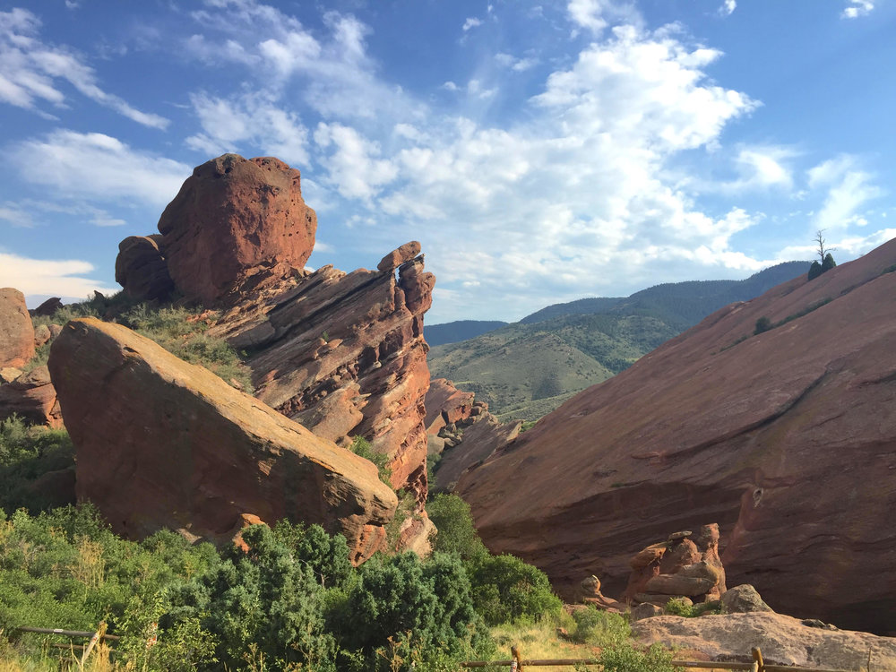 Scenery at Red Rocks