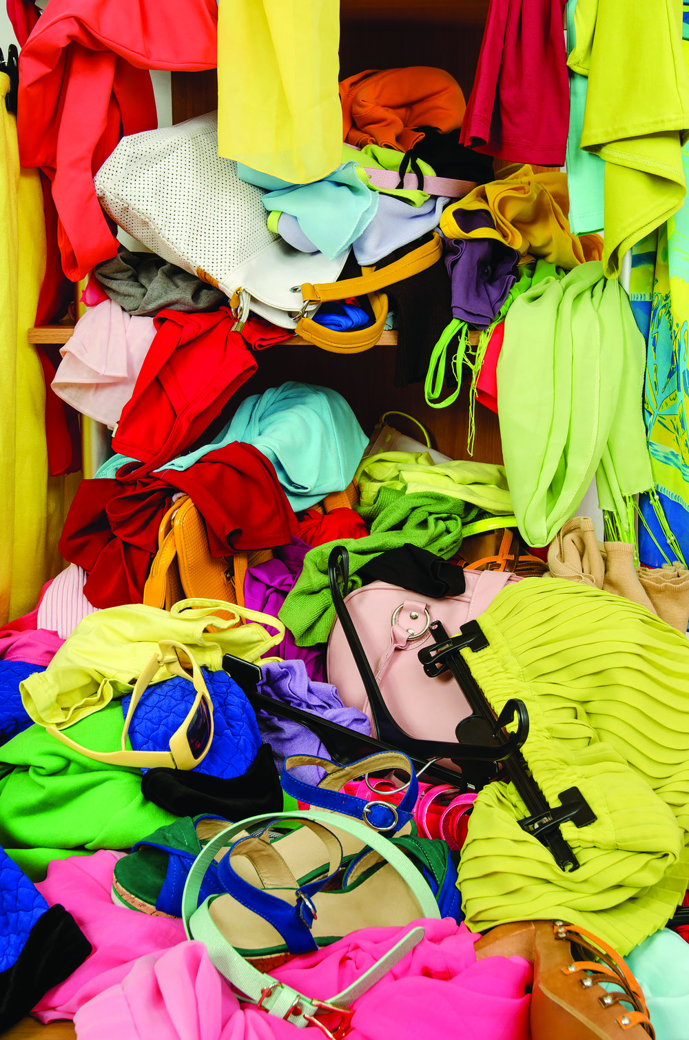 "If you live by the slogan: ""ONE ITEM IN AND ONE ITEM OUT,"" you can stop the clutter before it starts."