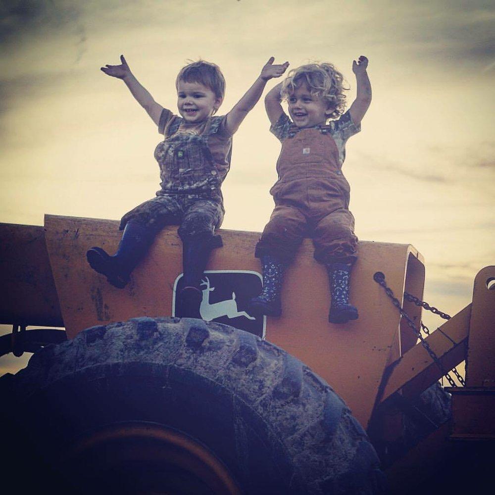 Yay, for harvest time and football season! Photo by Hannah Burkley Provance