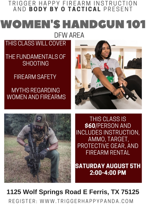 Upcoming Events Trigger Happy Firearm Instruction