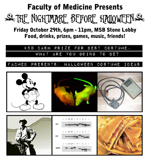 Faculty of Medicine Presents: The Nightmare Before Halloween