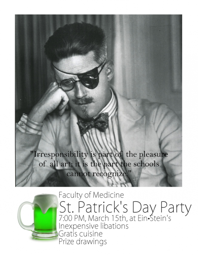 FacMed St. Patrick's Day Party 2013