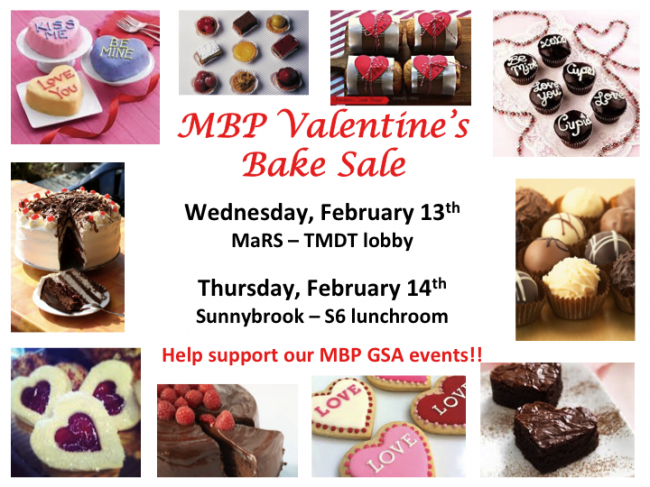 Valentine bake sale 2013 All