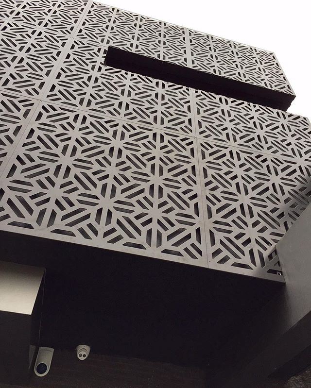 External facade of residence in Caulifield. #wip #facade #architectural #melbournearchitecture