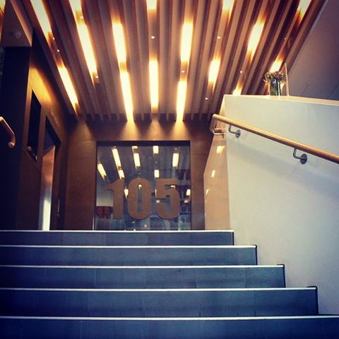105 queen st Melbourne. Entrance foyer. #commercialarchitecture #melbournearchitecture