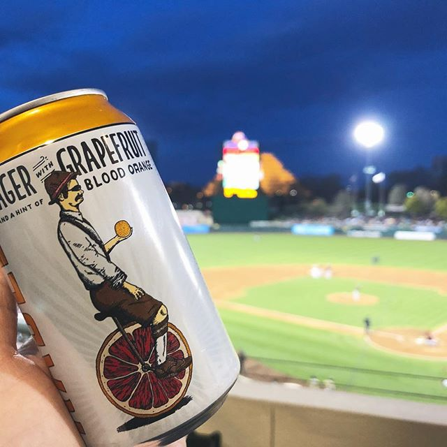 Radler at the @SFGiants vs @Rivercats game. Available on the suite level all summer at Raley Field!