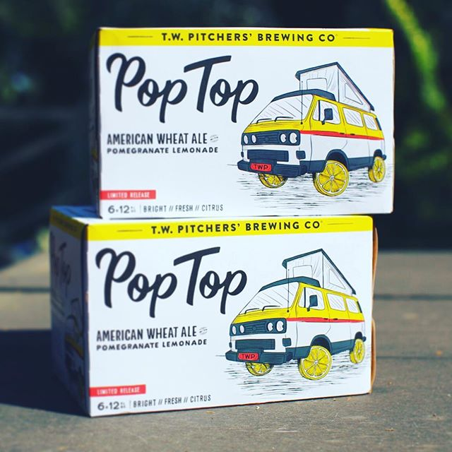 Introducing Pop Top, our new seasonal American Wheat Ale with Pomegranate Lemonade. Coming in at a crushable 5.3%. Available through the summer!