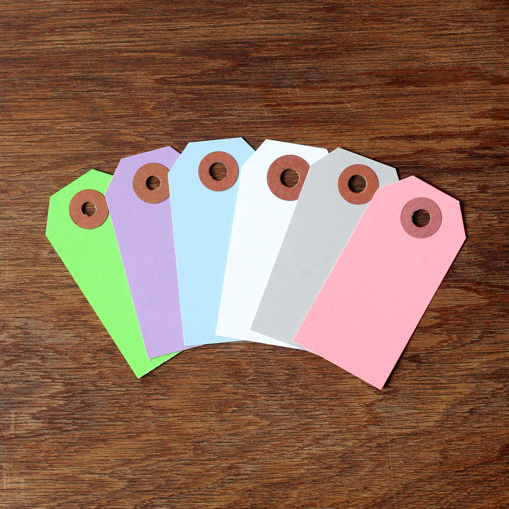 Pastel shipping tags xpresstags.com